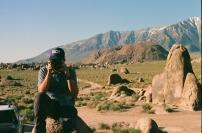 35mm Canon AE-1 • Lomography 400 • Alabama Hills, CA