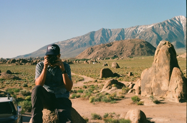 35mm Canon AE-1 • Lomography 400 • Alabama Hills, CA