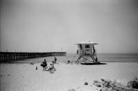 35mm Canon Sure Shot Compact • ILFORD 400 B&W • Ventura, CA