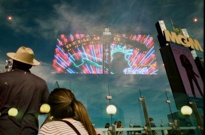 35mm Nikon FE2 • CineStill 800T • Las Vegas, CA