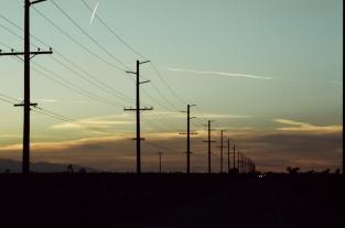 35mm Nikon FE2 • CineStill 800T • Palmdale, CA