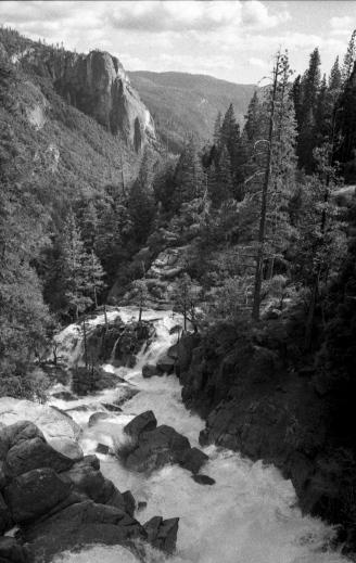 Nikon FE2 / Kodak TMax 400 @ 800 / Yosemite, CA